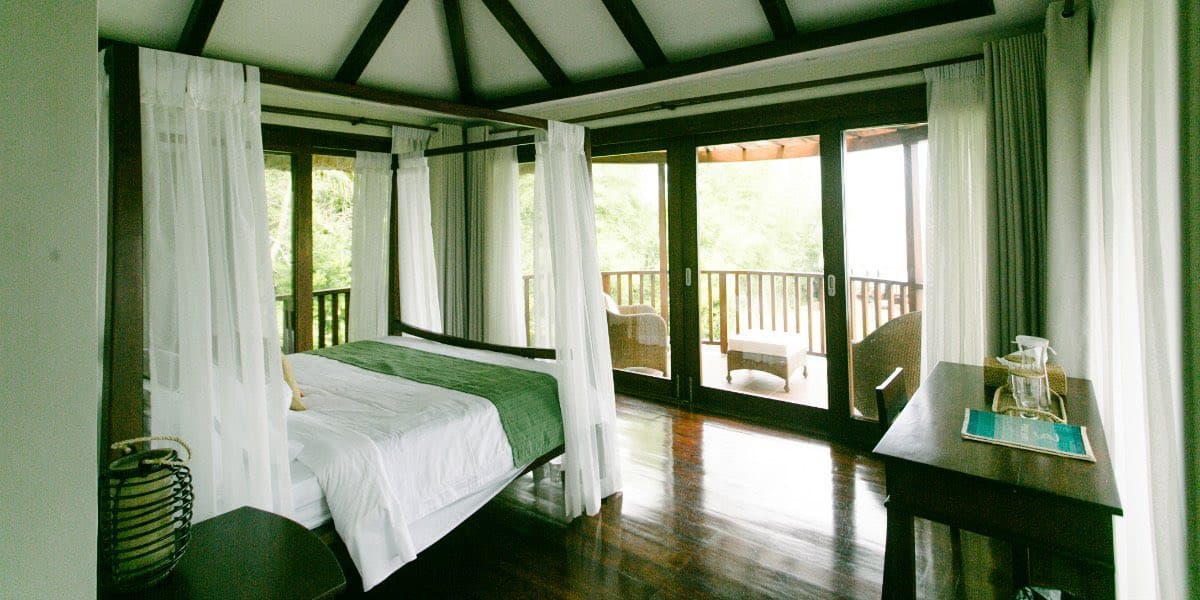 Bedroom 1: From a different angle, an open space balcony to relax.