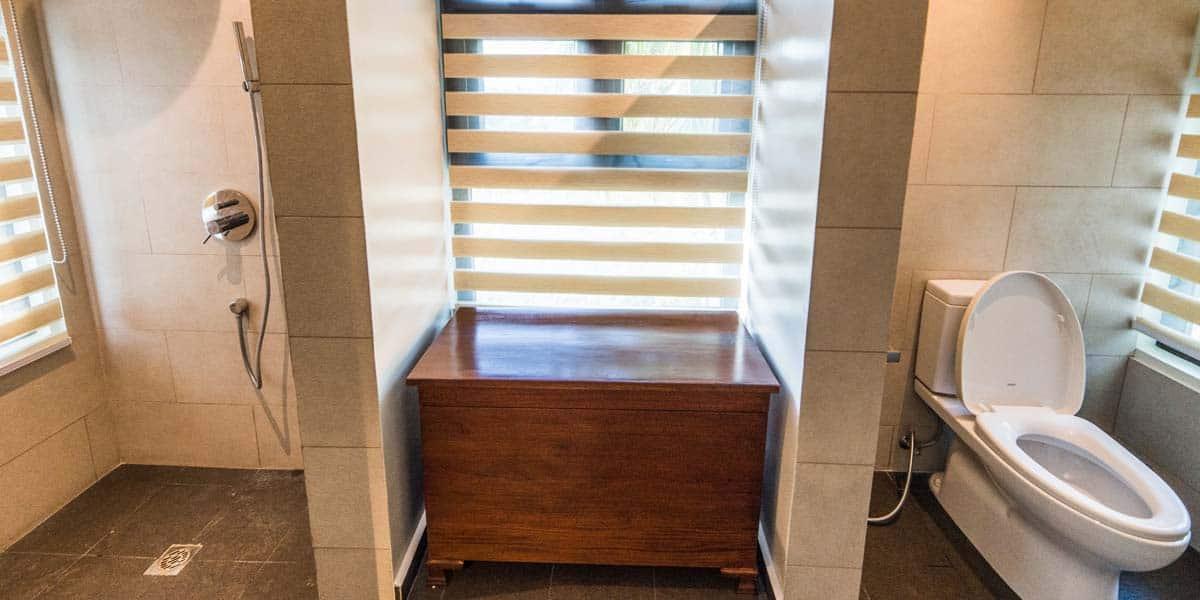 Oasis of Serenity bathrooms